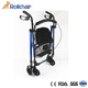 Convenient Aluminum Medical Rollator 4-Leg Walker With Seat