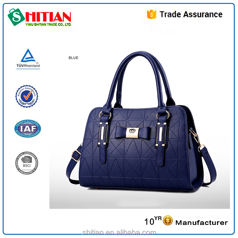 2017 Wholesale Manufacturers Bias Cut blueberry <strong>Handbags</strong>