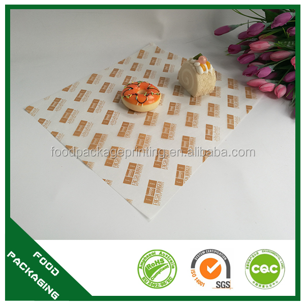 Manufacturer food wrapping newspaper wax french cheese paper