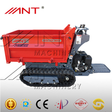 crawler dumper mini tractor with front end loader BY1000