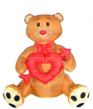 Inflatable Bear Valentine Decoration, Inflatable Bear Valentine Decoration  Suppliers And Manufacturers At Alibaba.com