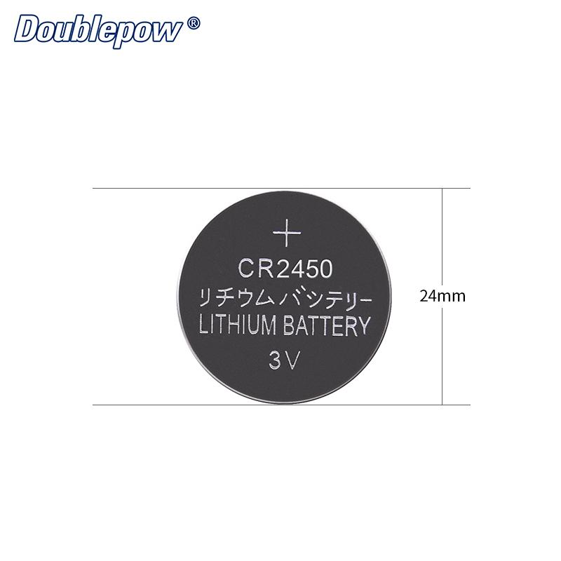 Lityum düğme düğme pil CR2450 için akıllı izle