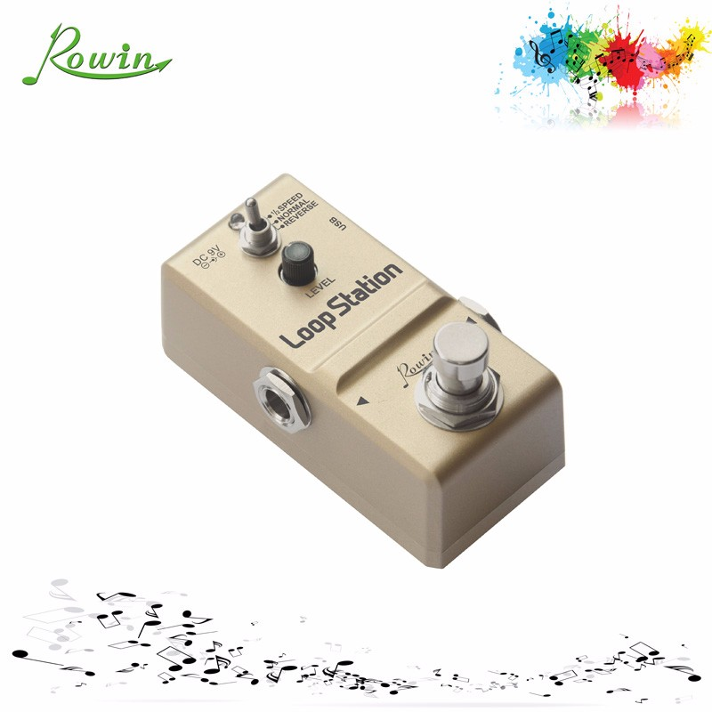 best guitar looper pedal ln 332s for electric guitar view looper pedal rowin product details. Black Bedroom Furniture Sets. Home Design Ideas