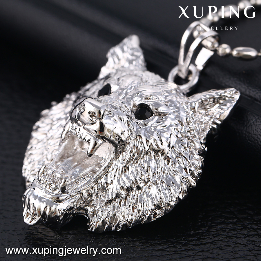 32593 xuping neutral animal wolf pendantswhite gold pendant designs 32593 xuping neutral animal wolf pendantswhite gold pendant designs menjewel mozeypictures Choice Image