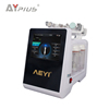 AY plus AYJ-Y51(CE)6 in 1 Jet peel water oxygen therapy facial deep clean beauty equipment