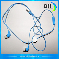 novelty metal in-ear earphone with MIC for ps4,MP3 player with CE/Rosh certification
