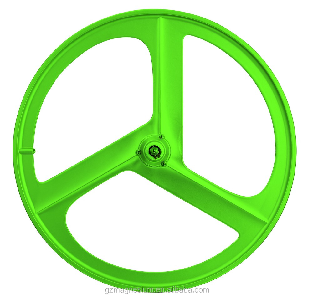 3 Spokes Aero Spoke Magnesium Bike Wheel 700c 29inch For 8 9 10