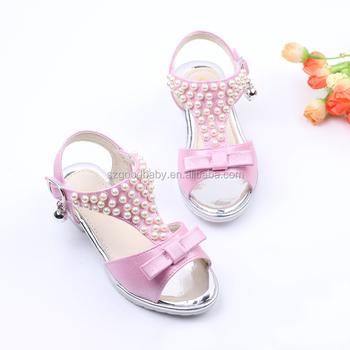 Gorgeous cheap baby girls wedding fancy sandals children high heel jelly  shoes