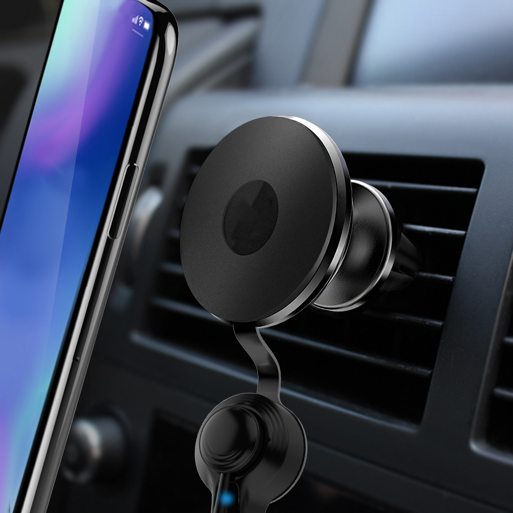 SJ-Y-077 car cell phone holder wireless charger private label