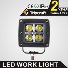 Hot sale cars, jeeps, auto parts 16w 12v led work light ip67 led headlight