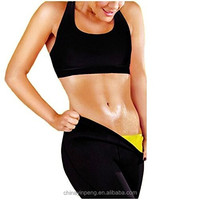 Hot Women Slimming Thermo Shapers Capri Hot Yoga Sweat Sauna weight loss Pants YH061