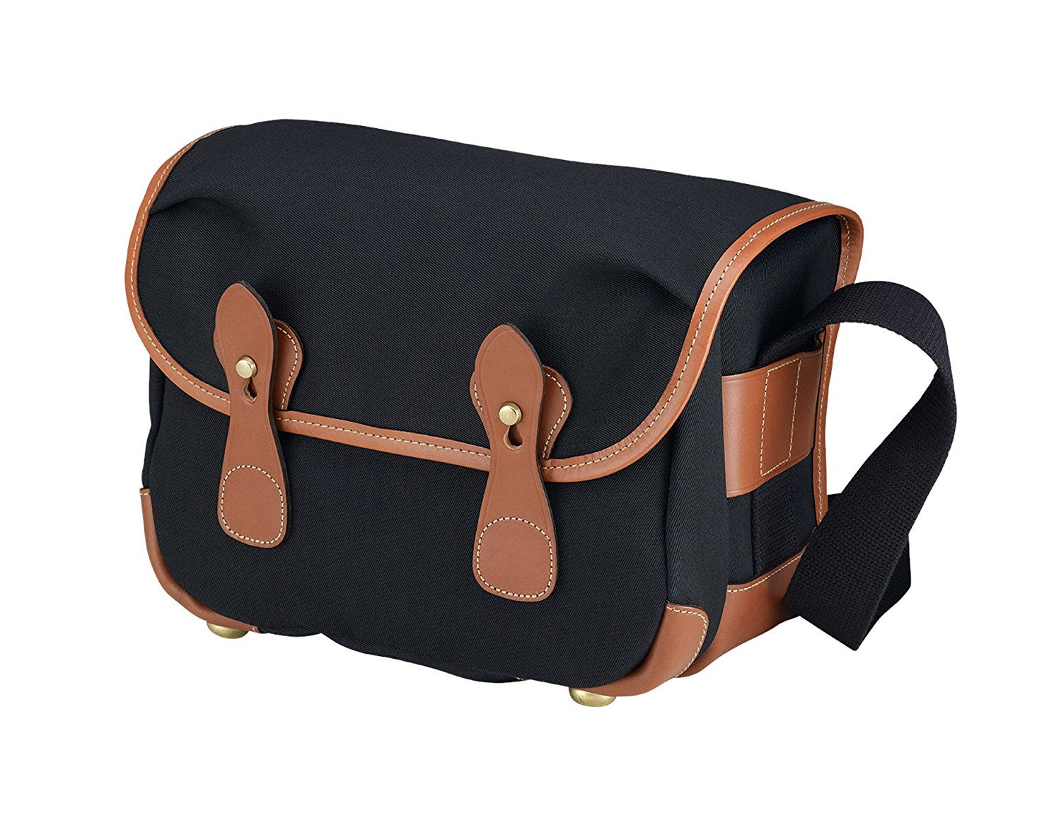Buy Billingham Hadley Small Canvas Bag For Camera Black Tan In One Leather L2 Trim