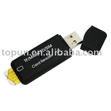 Sim Card Reader TP-110D (USB card reader, sim card mini reader )