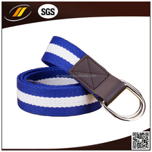 new arrival cotton braided high quality stripe men's belt