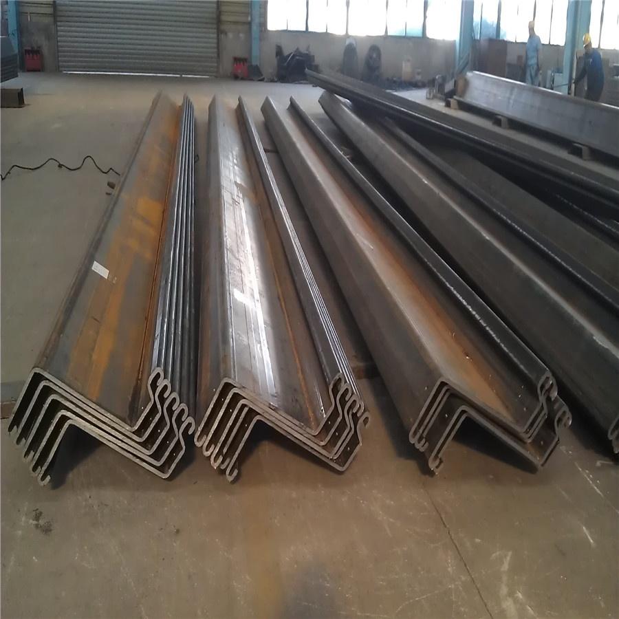لوح فولاذي كومة Z نوع ورقة كومة