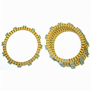 Caltric CLUTCH FRICTION PLATE Fits SUZUKI LTZ400 LTZ- 400 LT-Z400 LTZ400 QUADSPORT 2003-2004 ATV 7-PLATES