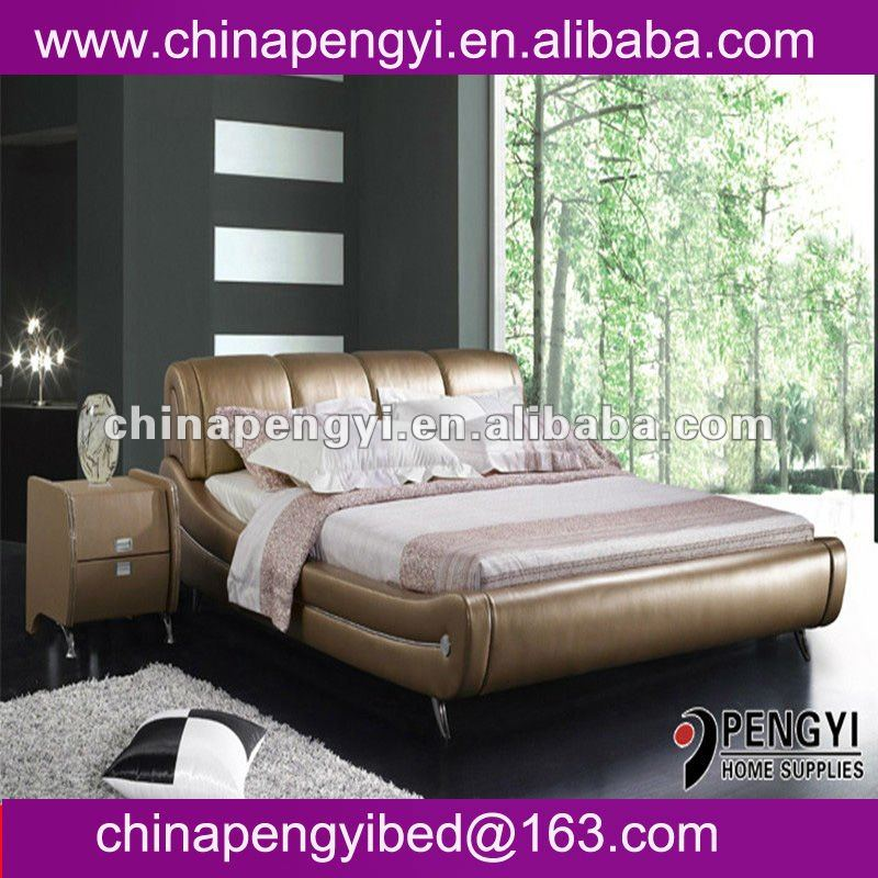 High quality low price modern platform bed PY-868