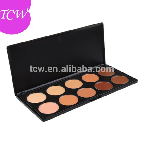 <strong>Cosmetics</strong> Wholesale Cheap Makeup Palette Makeup 10 Colors Concealer Palette