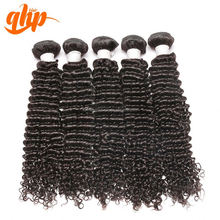 QHP hair 2015 Wholesale popular with competitive price curly indian hair loose wave hair