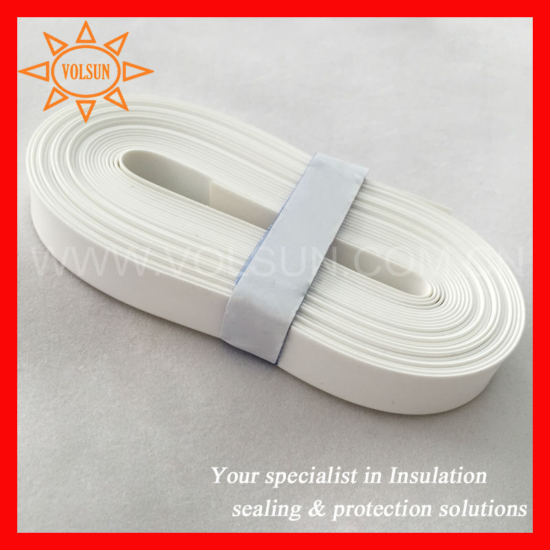 White Identification Cable Marker Tube