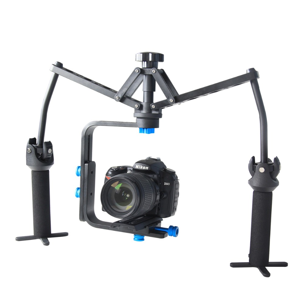YELANGU S1 Classic Foldable Spider Mechanical Stabilizer for Dslr And Video Camera Easy to carry