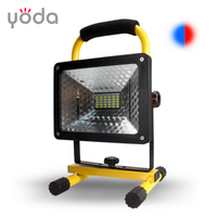 T1805 yoda tech portable factory price outdoor rechargeable 50w led floodlight