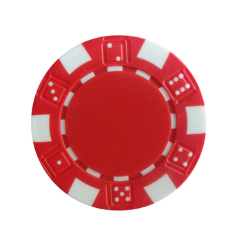 dice abs Poker Chip abs 11.5g plastic tokens