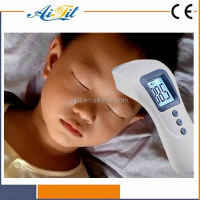 LCD infrared digital thermometer Baby ear termometro Kids forehead thermometer 10 seconds Factory