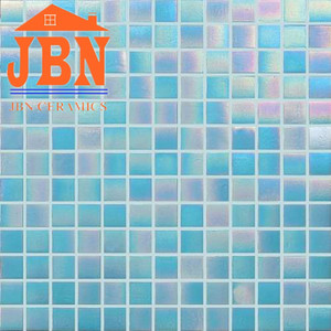 Mesh mounting glass mosaic 300x300 hot seller mosaic tiles for swimming poole