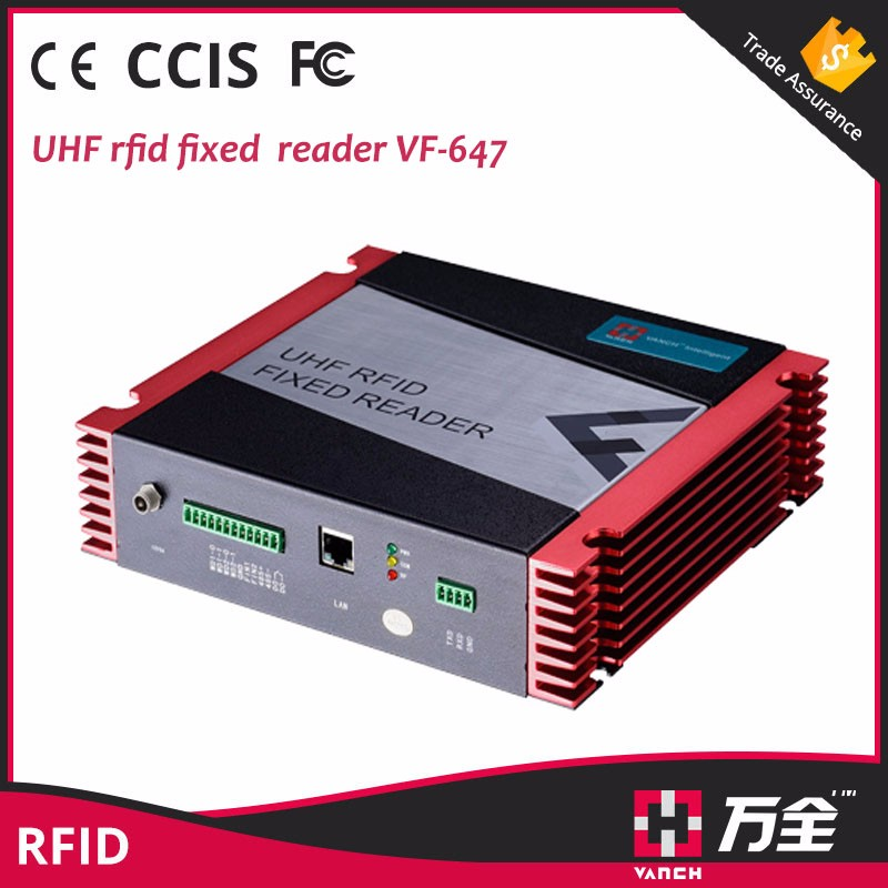 rfid inventory system long range uhf rfid reader and rfid antenna 12dbi