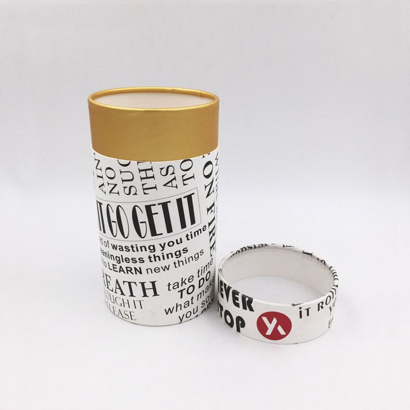SENCAI cheaper custom printing and size luxury perfume paper round box with pvc window