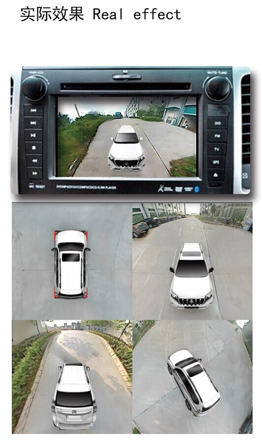 Hot 3d Avm 360 Degree View Car Camera System For Prado