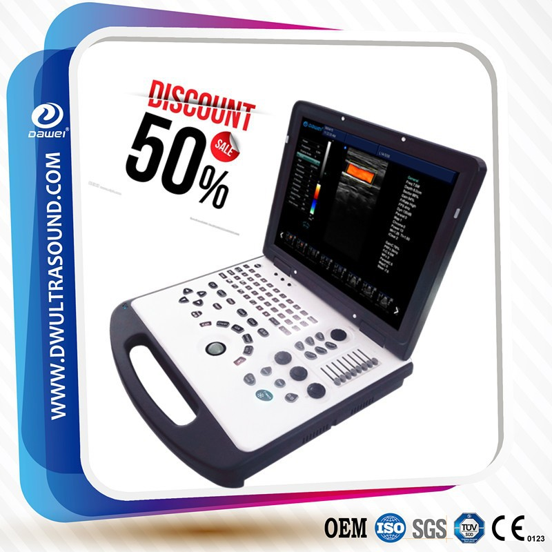 Hot sale ultrasound machine color doppler with DW-C60 Color Doppler Ultrasound Machine for Cardiac/OB/GYN