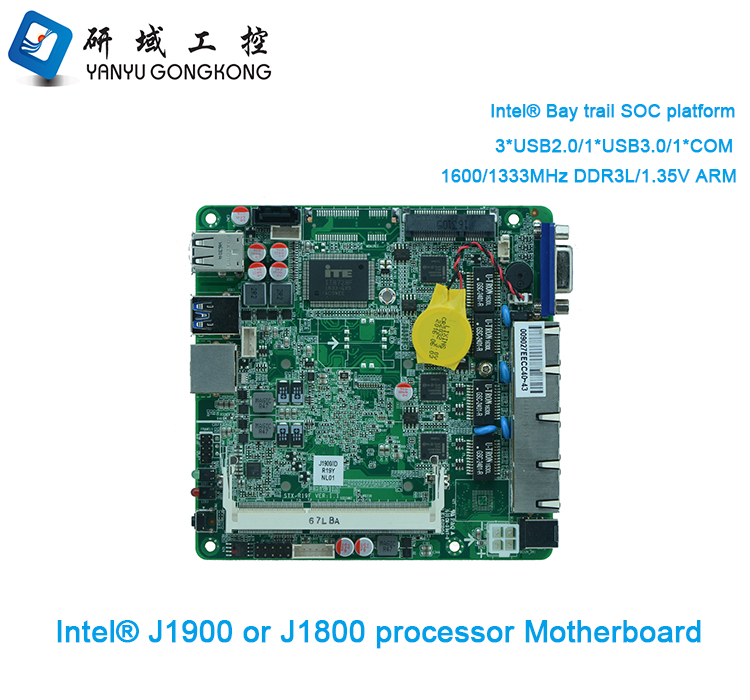 Intel Bay Trail Firewall Motherboard 4 Lan Ports Industrial Pc Rs232  Mikrotik Router Mainboard - Buy Firewall Motherboard 4 Lan Ports,4 Lan  Ports