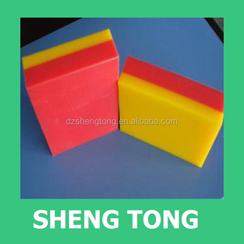 Double Color Hdpe Plastic Sheets / Abs Two Layers Color Plastic ...