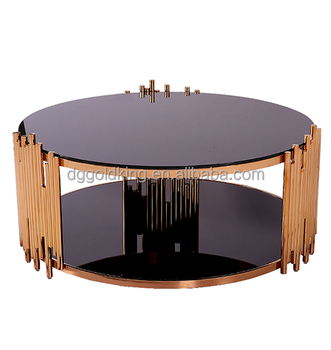 Modern Black Glass Coffee Table Center Round Coffee Table Buy
