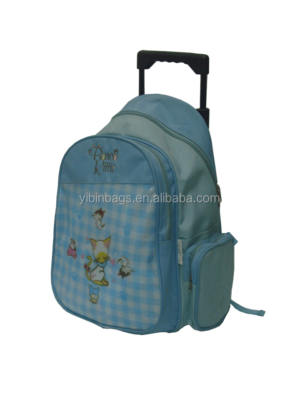 73cc1e4af25c Cheap Plain Kids Trolley School Bag