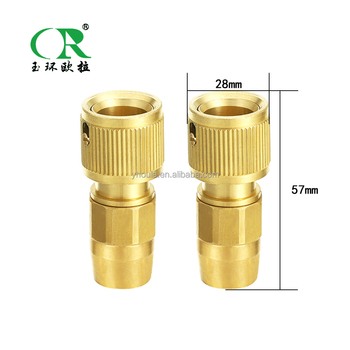 High Pressure Garden Hose Brass Connector Zine Water Hose Fittings Pipe Quick  Connector Metal Adapter