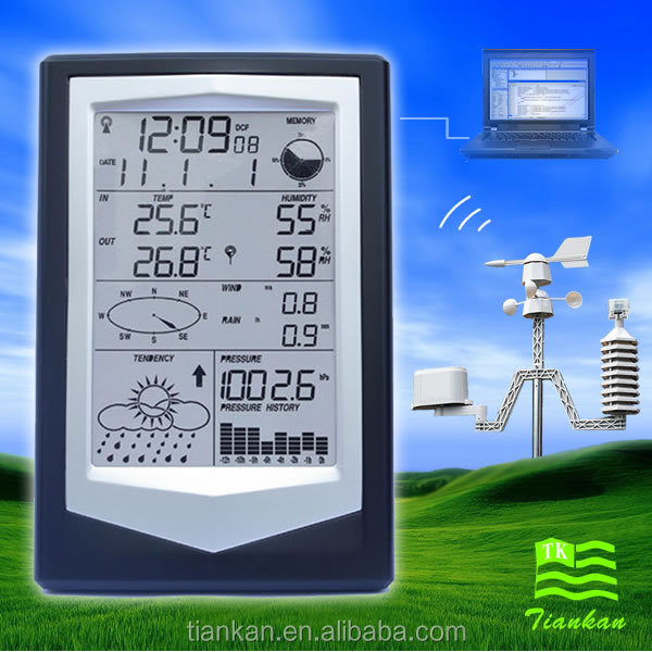 WS1040 Professional Weather Station wind direction indicator