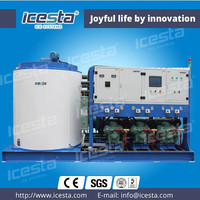 ICESTA Water-cooled ice machines snow making machine scale ice making machine