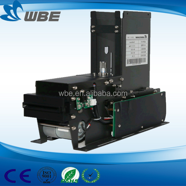credit card dispenser for ticket vending Card dispenser and issuing machine WBCM-7300