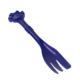 Plastic Paw Handle Custom Pet Food Spoon For Puppy
