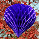 Heart style various color honeycomb tissue ball/heart paper lanterns party/wedding/Christmas Decoration