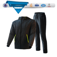 Sportswear spring unisex cotton polyester tracksuit from Rongcheng