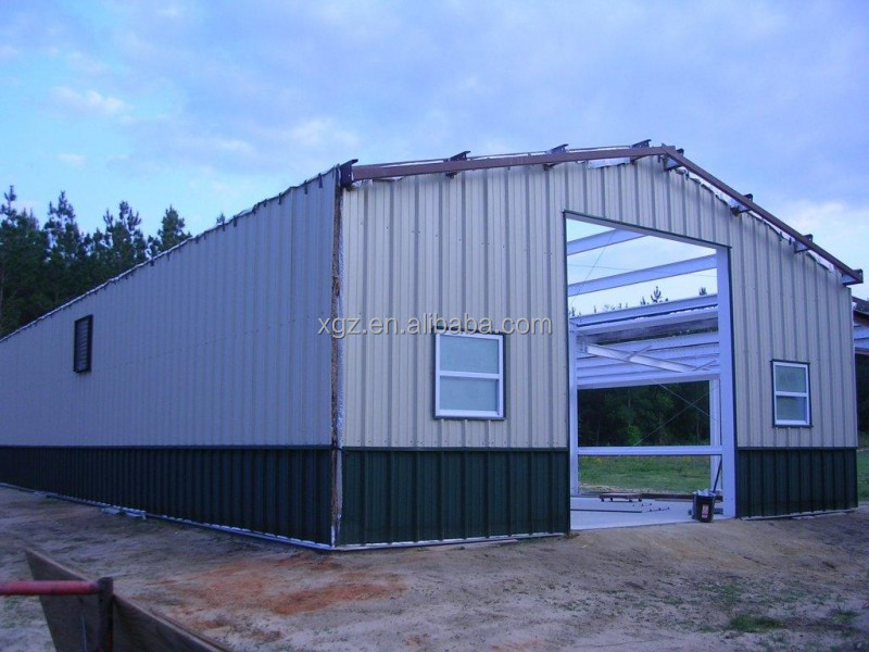high quality modernized cheap small steel frame house