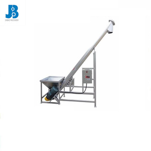 incline heated resistant stainless steel screw conveyor for flour