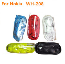 High Quality WH-208 Headphone For Nokia Lumia 720 800 Headset 820 600 Earphones For Nokia 900 620 Handsfree 700 920 Earpods