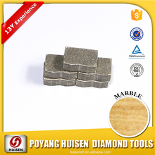 Fast cut diamond segments reinforced concrete for wet cutting stone and tile/cold