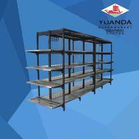 Supermarket rack suppliers store shelf display steel shelving units steel shelving unit