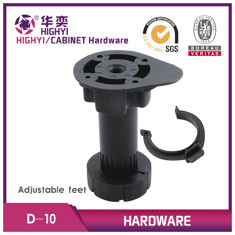 plastic adjustable feet for cabinets